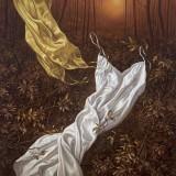 Bosque magico III. Oleo sobre lienzo152x121 cm