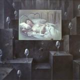 En la ciudad IV. Oleo sobre lienzo 162×130 cm.