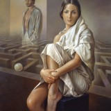 Laberintos del alma III. Oleo sobre lienzo 61×50 cm