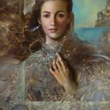 Mujer. Oleo sobre lienzo 73×60 cm