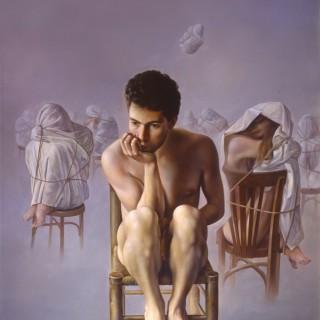 Poblada soledad. Oleo sobre lienzo 146×114 cm.