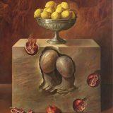 Bodegon español. Oleo sobre lienzo 146×114 cm.